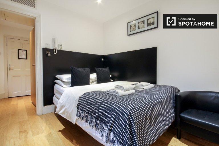 Studio-Apartment mit Terrasse zu vermieten in Kings Cross, London
