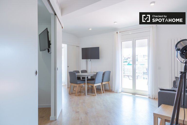 3-bedroom apartment for rent in Eixample Dreta, Barcelona