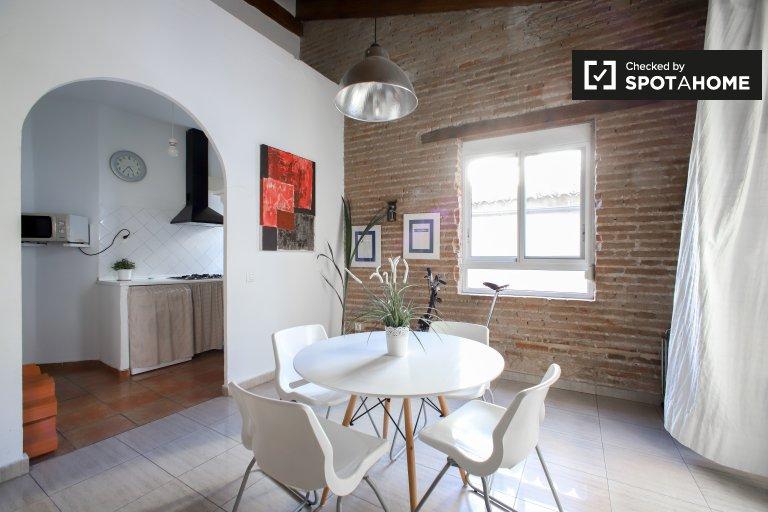 Appartement 1 chambre avec AC à louer à Ciutat Vella