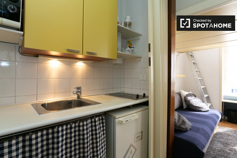 Accogliente monolocale in affitto a Stazione Centrale, Milano