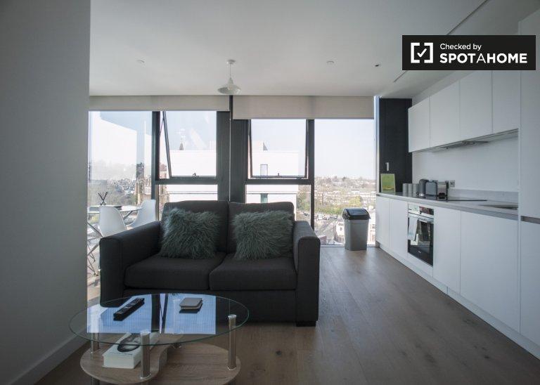 Moderno monolocale in affitto a Islington, Londra