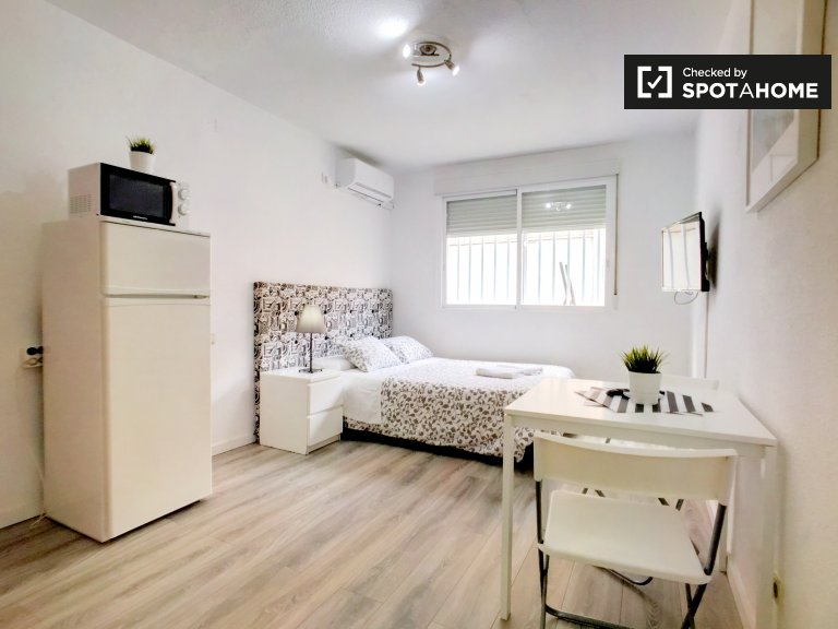 Stylish studio apartment for rent in Moncloa, Madrid
