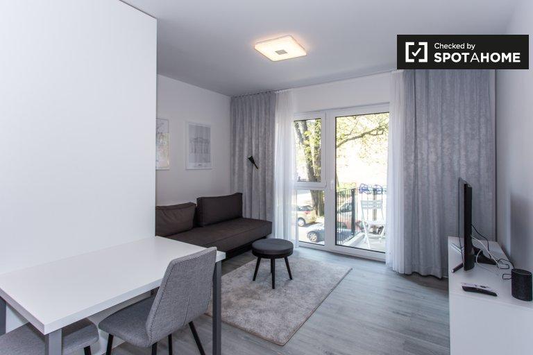 Gran apartamento con 1 dormitorio para alquilar en Treptow-Köpenick