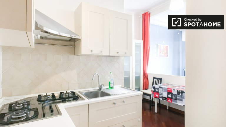 Bright 2-bedroom apartment for rent in San Giovanni, Rome