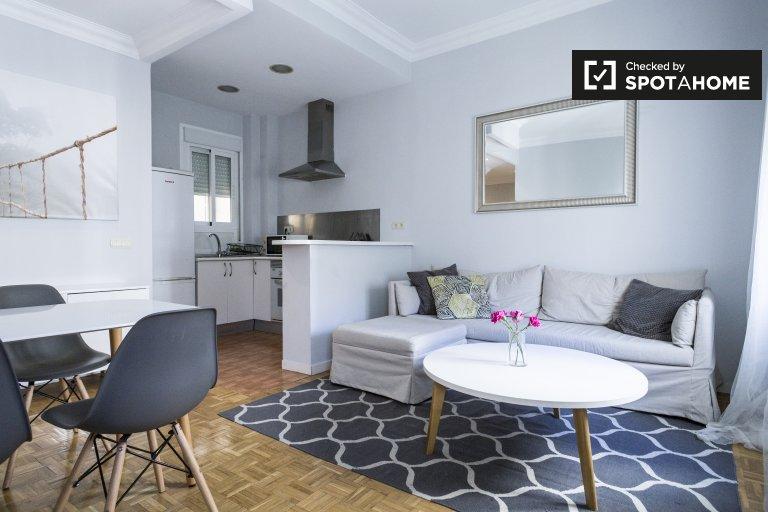 Apartamento de 2 quartos para alugar em Retiro, Madrid