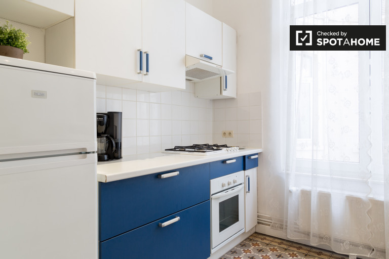 Spacious 3-bedroom apartment for rent in Brussels city center