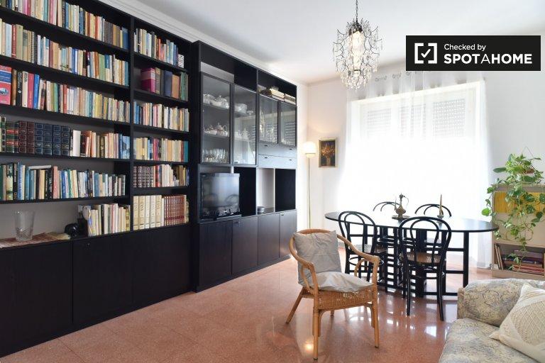 Jasne 2-pokojowe mieszkanie do wynajęcia w Flaminio, Rzym