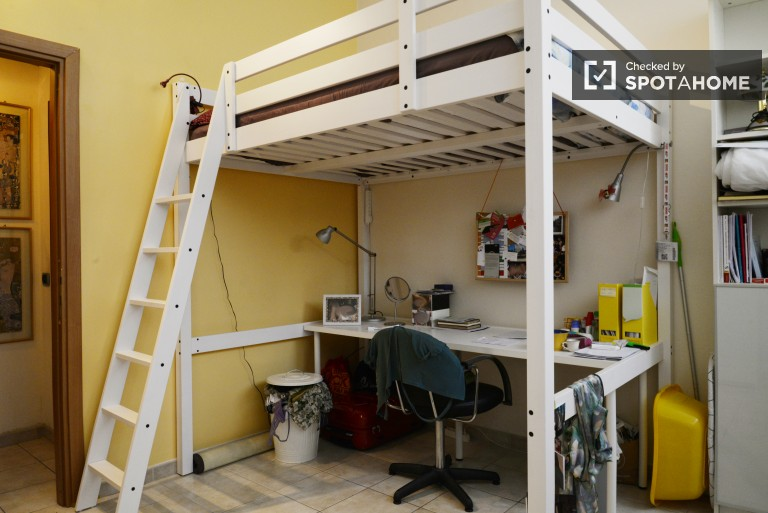 Bedroom 3 with Lofted Bed