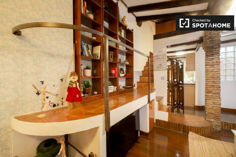 Apartamento de 1 quarto chique para alugar em Ciutat Vella, Valência