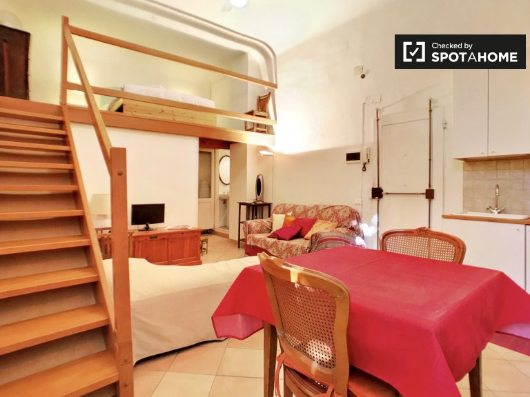 Stylish studio apartment for rent in Santa Croce, Florence