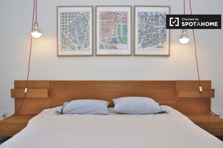 2-bedroom apartment with AC for rent in El Raval, Barcelona