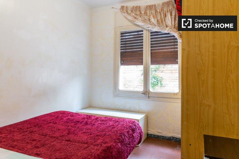 Gemütliches Zimmer in 3-Zimmer-Wohnung in Gràcia, Barcelona