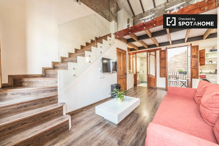 Cabañal, Valencia kiralık lüks 2 yatak odalı daire