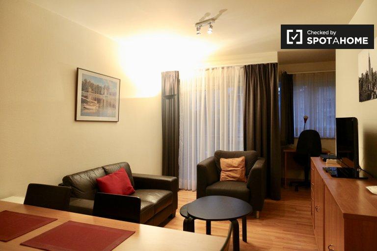Charmante 1-Zimmer-Wohnung zur Miete in Woluwe, Brüssel