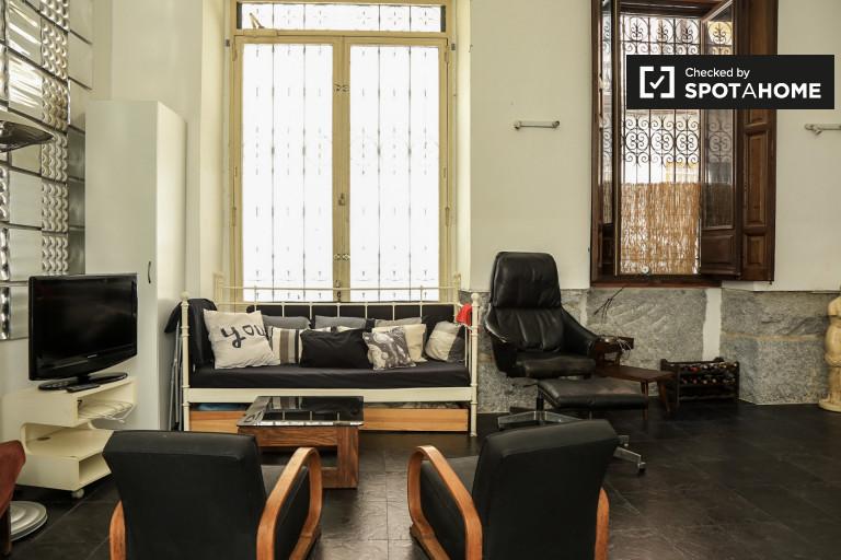 Stilvolle 2-Zimmer-Wohnung zur Miete in Malasaña, Madrid
