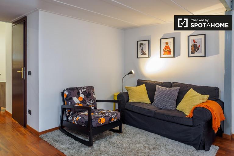 apartamento de 1 dormitorio con aire acondicionado en alquiler en Porta Romana, Milán