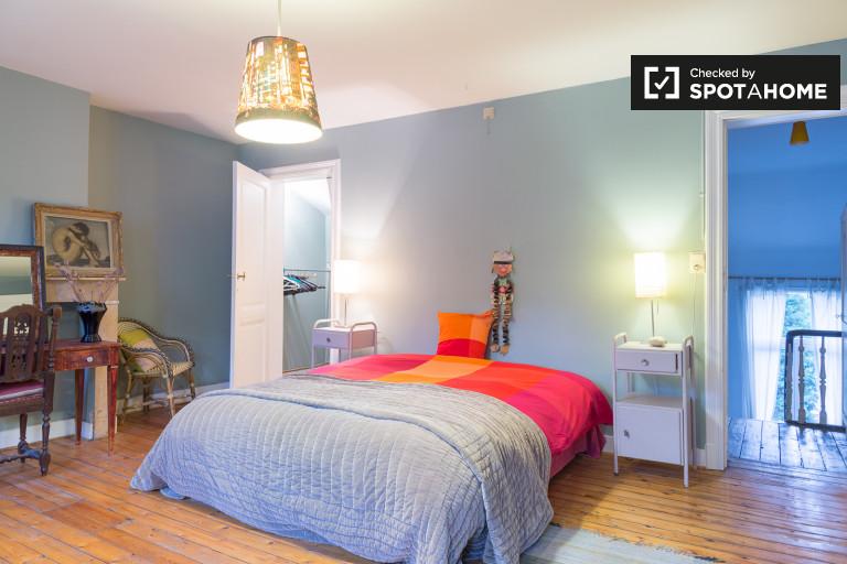 Chambre à jour dans un appartement à Schaerbeek, Bruxelles