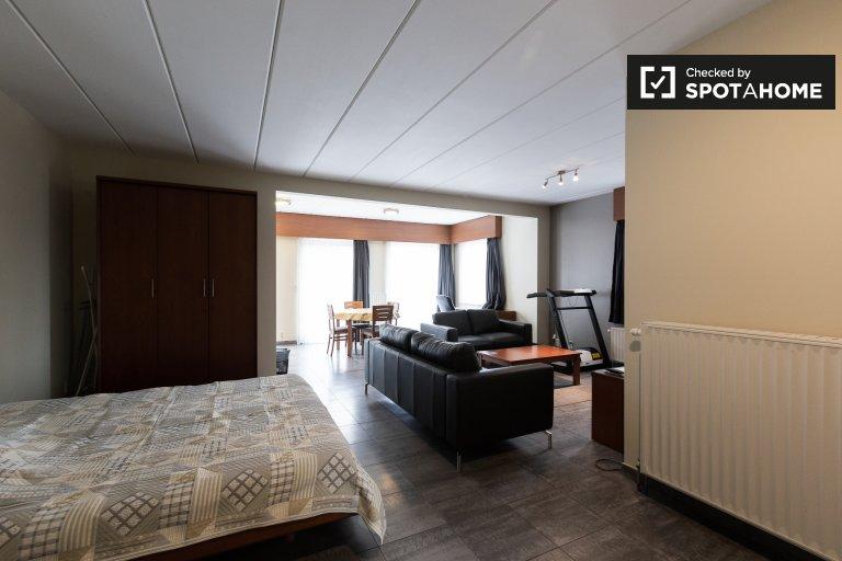 Spacious studio apartment for rent in Diegem, Brussels