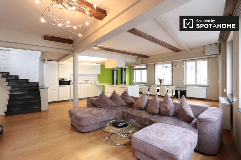 3-bedroom apartment for rent in Brussels City Center