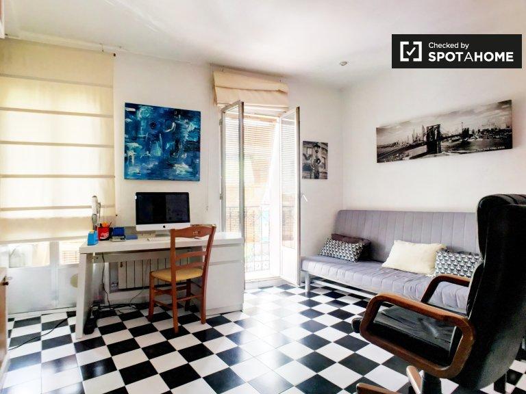 Fashionable 1-bedroom apartment in Carabanchel, Madrid