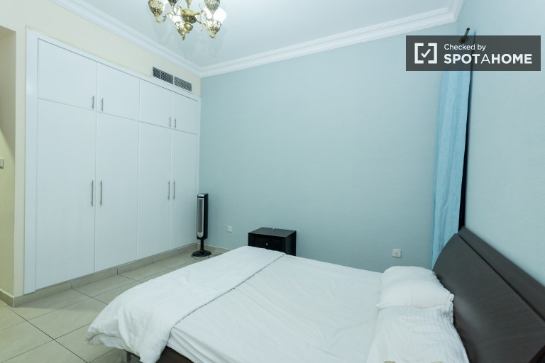 Bedroom 1 with double bed