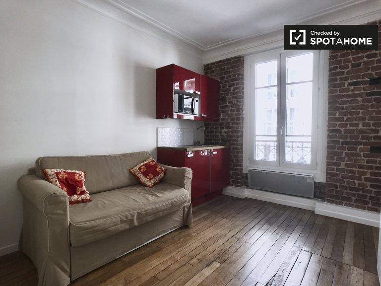 Studio apartment for rent in Levallois-Perret, Paris