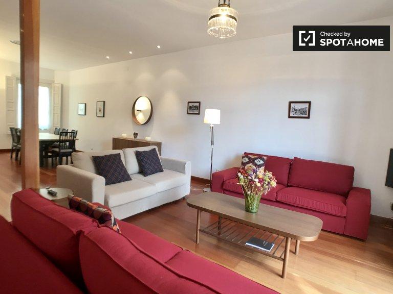 apartamento de 1 dormitorio en alquiler en Madrid Centro