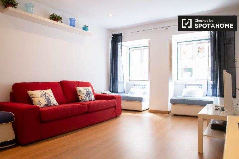 Apartamento T0 para arrendamento no Príncipe Real, Lisboa
