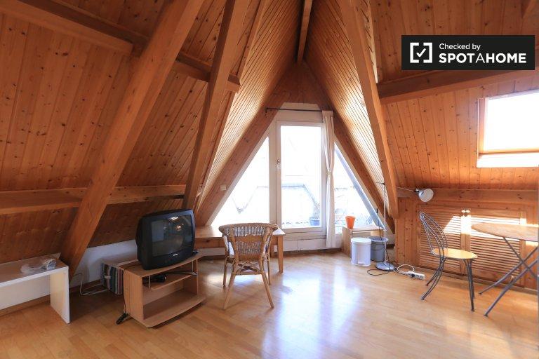 Studio attique à louer à Etterbeek, Bruxelles