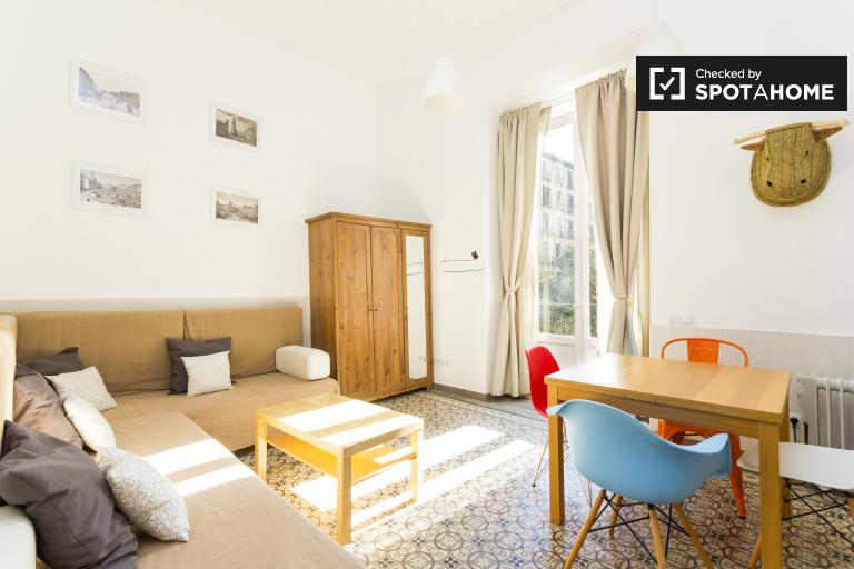 1-Zimmer-Wohnung mit Balkon zu vermieten, La Latina, Madrid