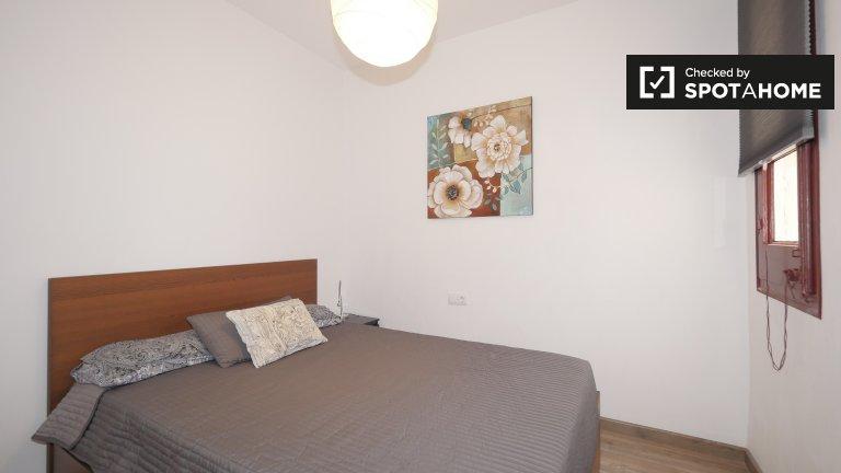 Chambre meublée dans un appartement de 2 chambres à Gràcia, Barcelone