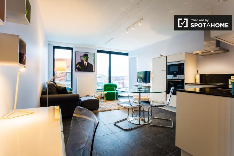 Stilvolle 1-Zimmer-Wohnung zur Miete in Brussels City Centre