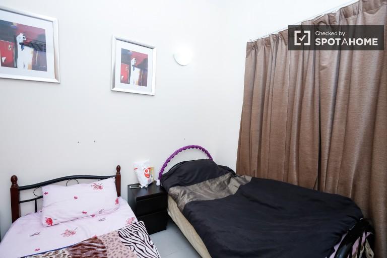 Huge room in 3-bedroom apartment in Al Barsha, Dubai