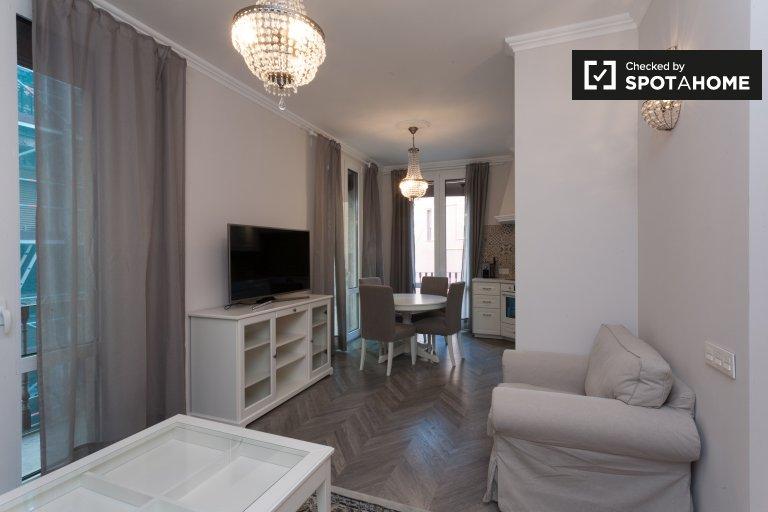 Apartamento de 4 quartos elegante para alugar em El Raval, Barcelona
