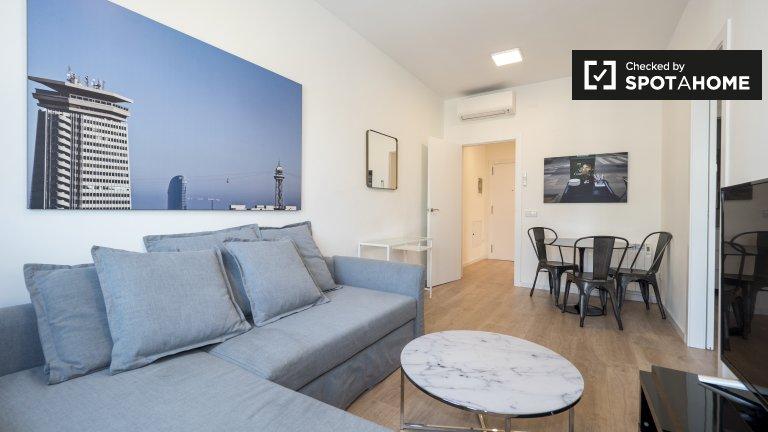 Trendy 2-Zimmer-Wohnung zur Miete in L'Eixample, Barcelona
