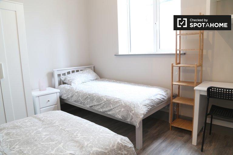 Lits à louer dans un appartement de 1 chambre à Whitehall, Dublin