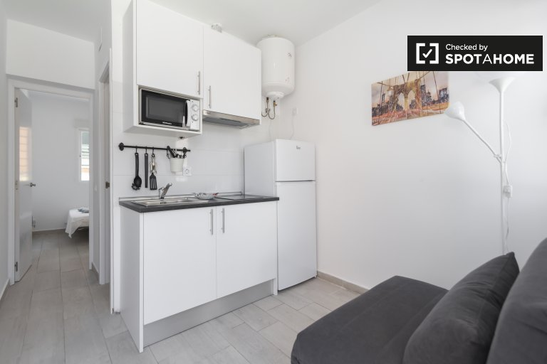 1-pokojowe mieszkanie do wynajęcia w Usera w Madrycie