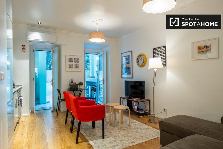 Graça e São Vicente, Lizbon'da kiralık 1 yatak odalı daire