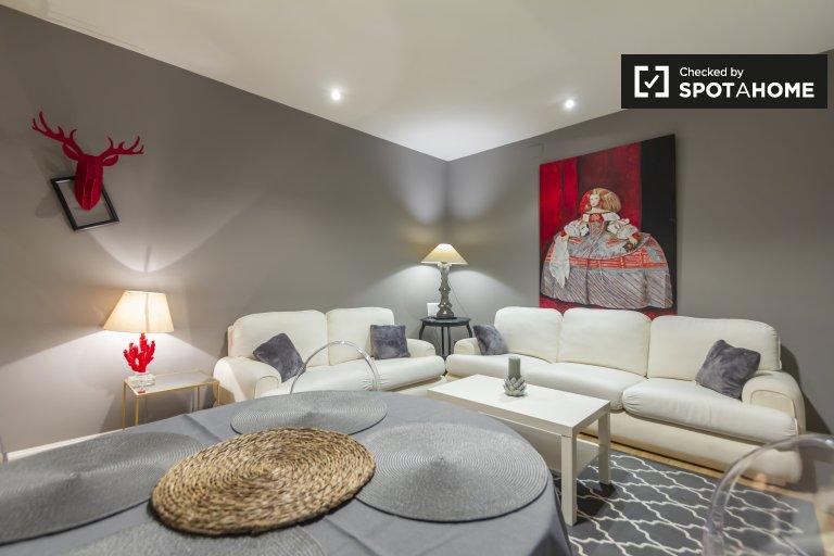 Calme appartement de 2 chambres à louer à Salamanque, Madrid