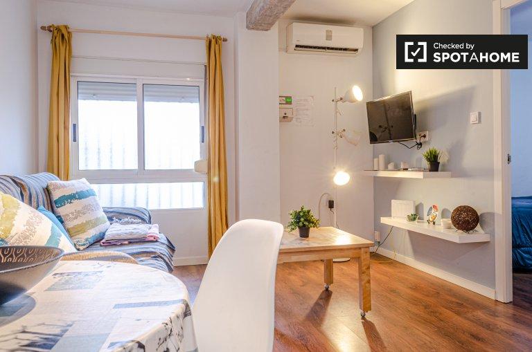 Appartamento con 2 camere da letto in affitto a Natzaret, Valencia