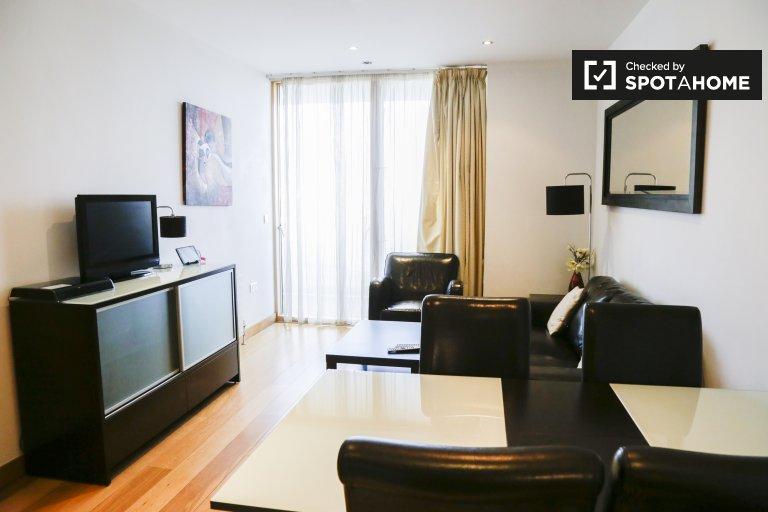 Serviced 2 Schlafzimmer Apartment zu vermieten in der IFSC, Dublin 1