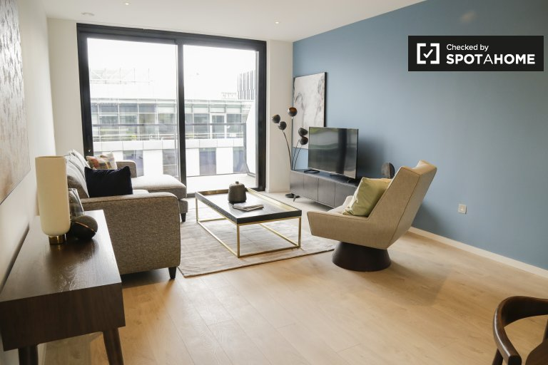 Apartamento de 3 dormitorios en alquiler en Grand Canal Dock, Dublín