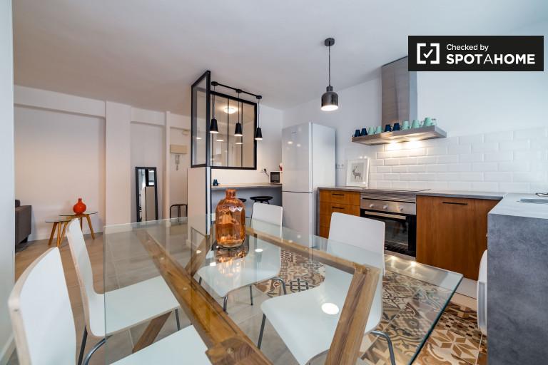 Nowoczesne 2-pokojowe mieszkanie do wynajęcia w Walencji
