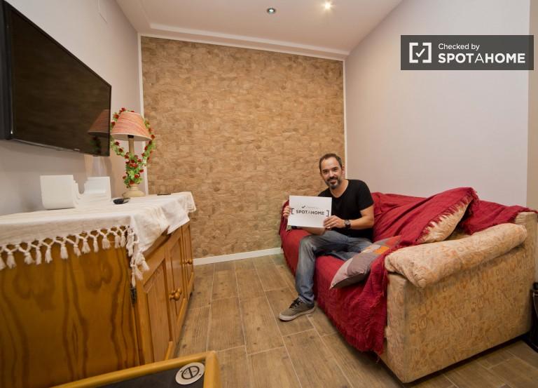 Chambre lumineuse dans un appartement partagé à Benimaclet, Valence