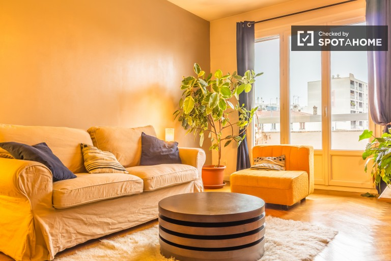 Charming 1 Bedroom Apartment with Balcony in Villeurbanne, Lyon