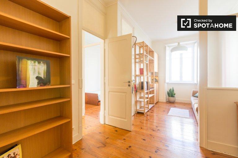 Appartamento con 3 camere da letto in affitto ad Avenidas Novas, Lisbona