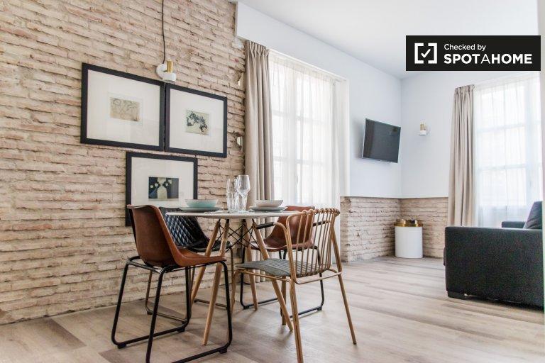 Elegante appartamento con 1 camera da letto in affitto, Ciutat Vella, Valencia