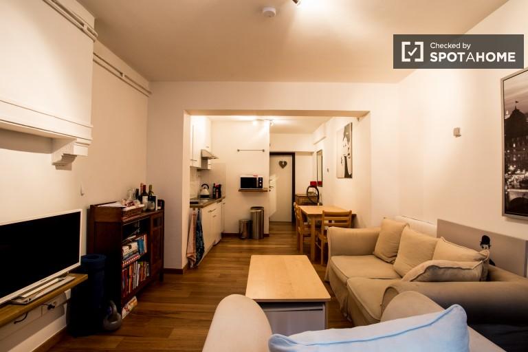 apartamento de 1 dormitorio en alquiler - barrio europeo, Bruselas