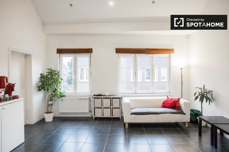 Studio apartment for rent in Ganshoren, Brussels
