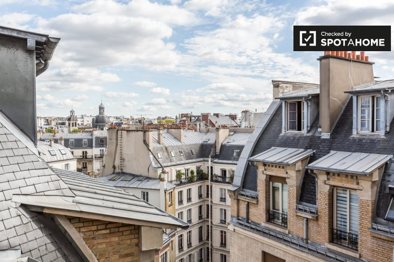 Charming studio apartment for rent close to Palais du Luxembourg in Paris 6